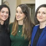 (L-R) Dr Rebecca Courtney (TCD), Dr Orna Collins (TCD), Dr Mary Coleman (St. James Hospital)