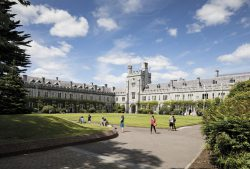 A summer scene at University College Cork